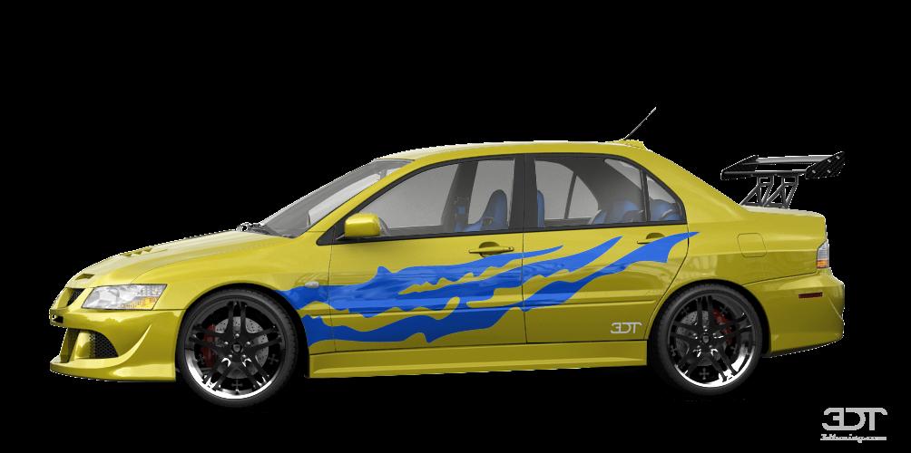 Mitsubishi Lancer Evo IX Sedan 2006 tuning