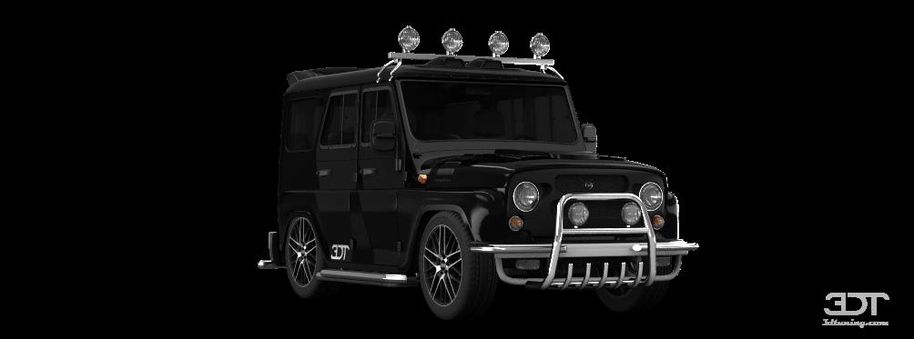 UAZ Hunter SUV 2012 tuning