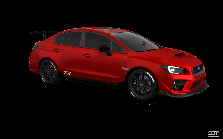 Subaru Impreza WRX STI 4 Door Saloon 2015 tuning