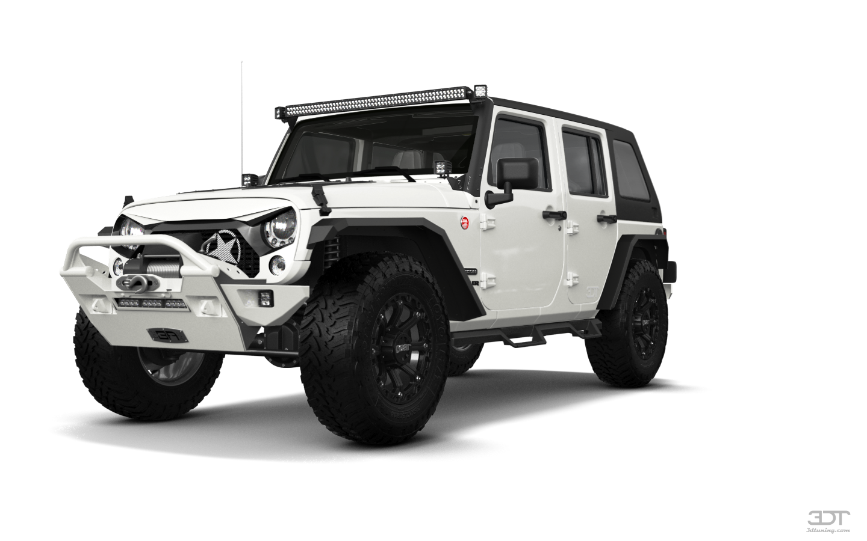 Jeep Wrangler Unlimited Rubicon Recon 4 Door SUV 2017 tuning