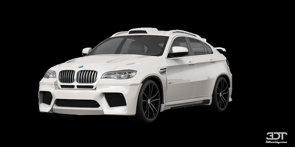 Тюнинг BMW X6 E71 обвес Хаманн на БМВ Х6