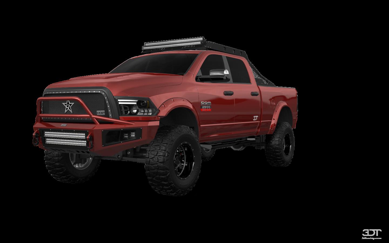 Dodge Ram 2500 4 Door Truck 2014 tuning
