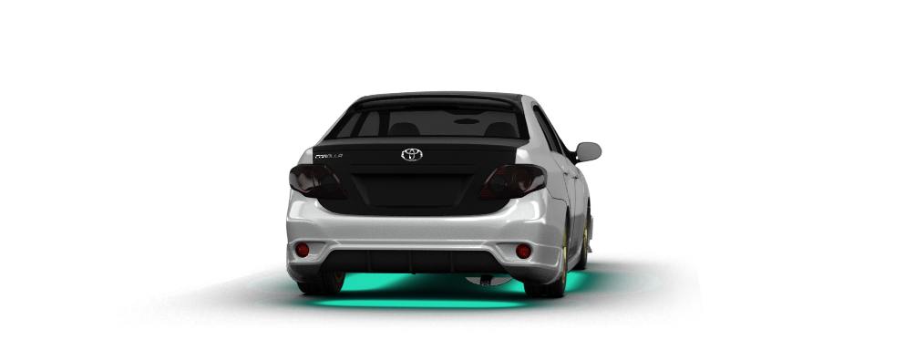 Toyota Corolla Sedan 2007 tuning