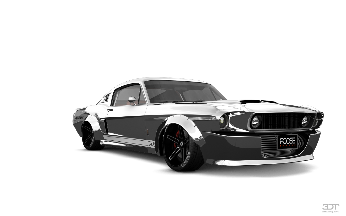 Mustang Shelby GT500 2 Door Coupe 1968 tuning