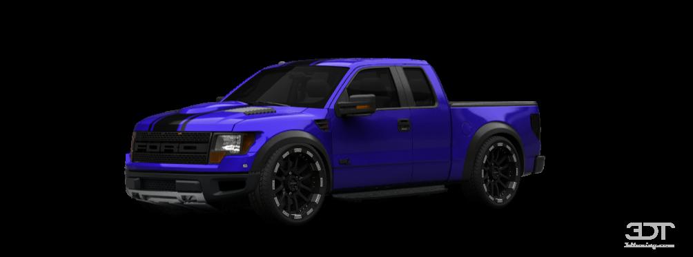 3dtuning Of Ford F 150 Svt Raptor Supercab Truck 2013