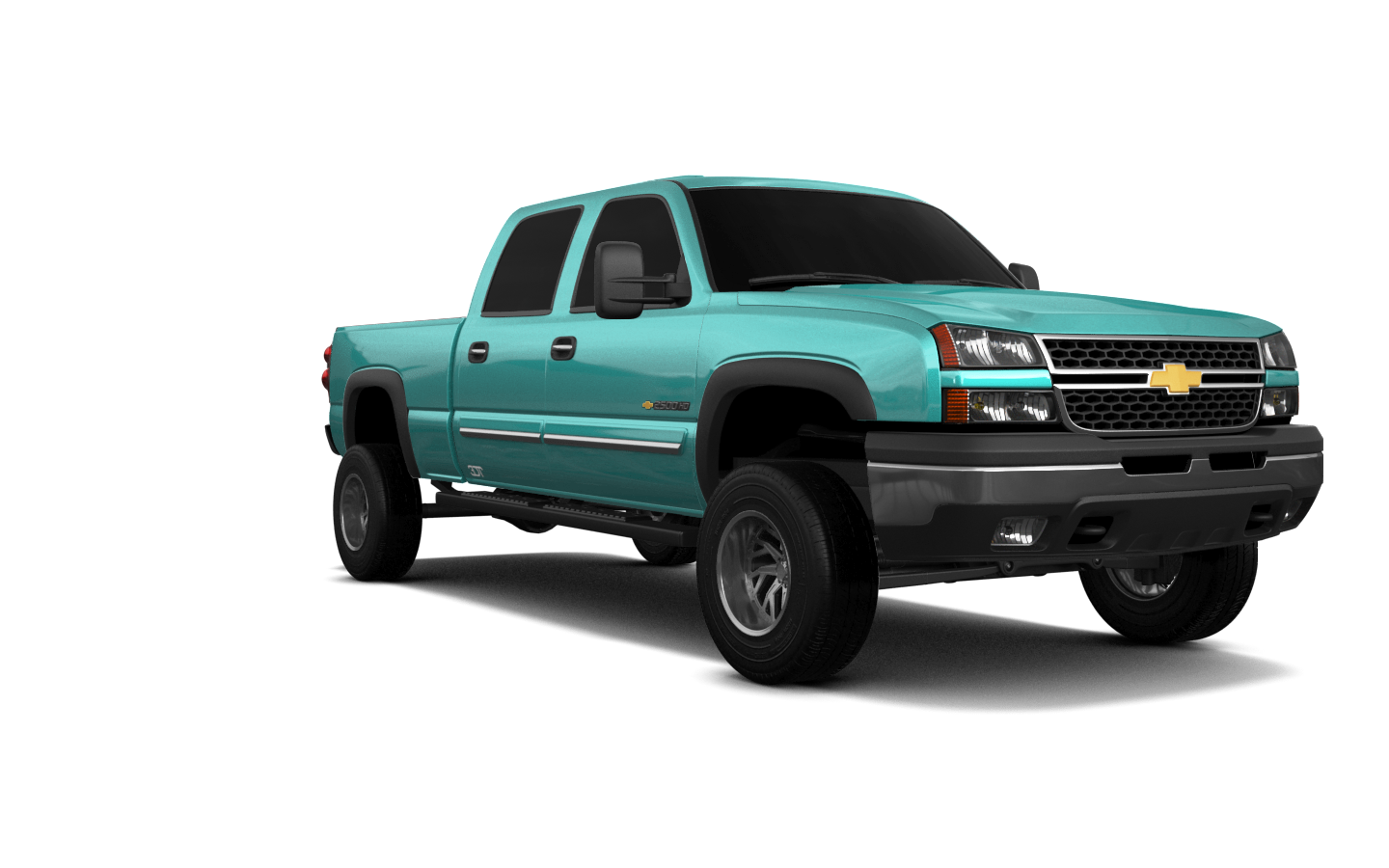 Chevrolet Silverado 2500 HD Long Box'02