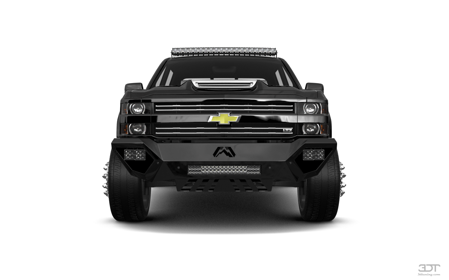 Chevrolet Silverado 3500 4 Door pickup truck 2015