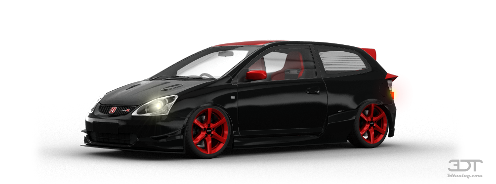3dtuning Of Honda Civic Type R 3 Door Hatchback 2004
