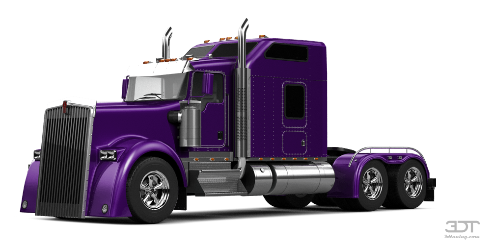 My Perfect Kenworth W900 Sleeper Cab 3dtuning Probably