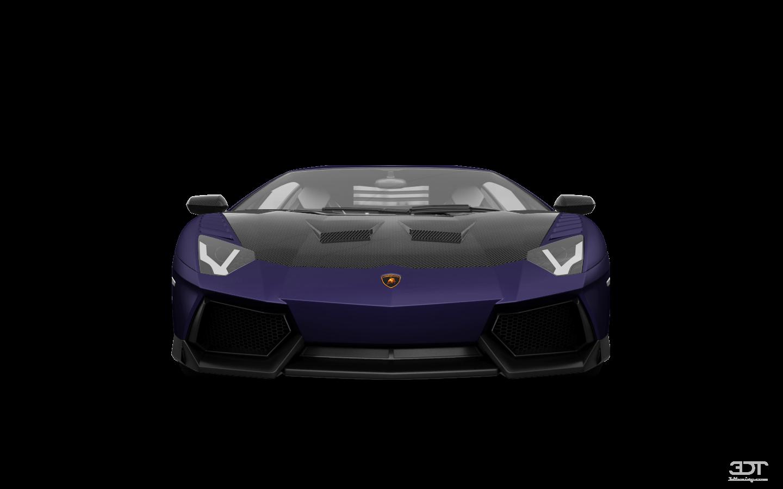 Lamborghini Aventador 2 Door Coupe 2012
