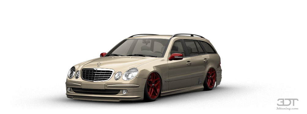 3DTuning of Mercedes E class Wagon 2003 3DTuning.com - unique on-line ...