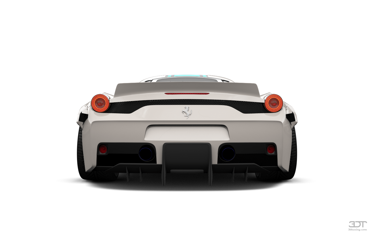 Ferrari 458 Italia 2 door spider 2010 tuning