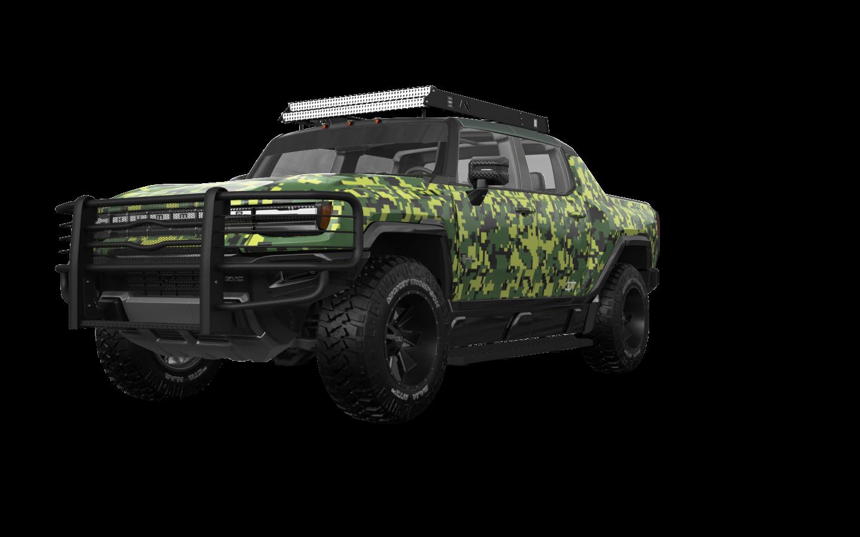 GMC Hummer EV 4 Door pickup truck 2021 tuning