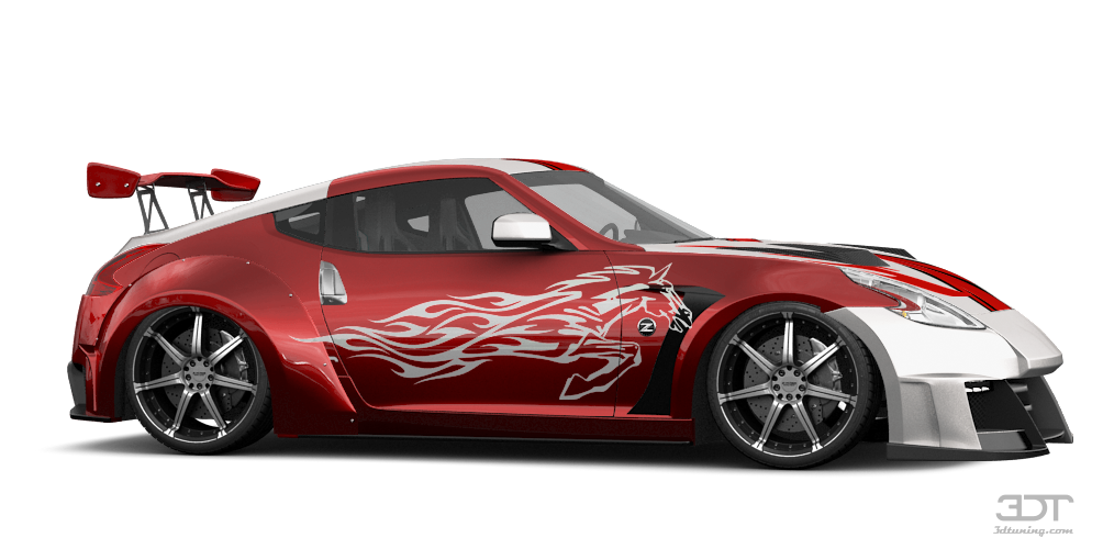 Nissan 370Z'15 by 3D