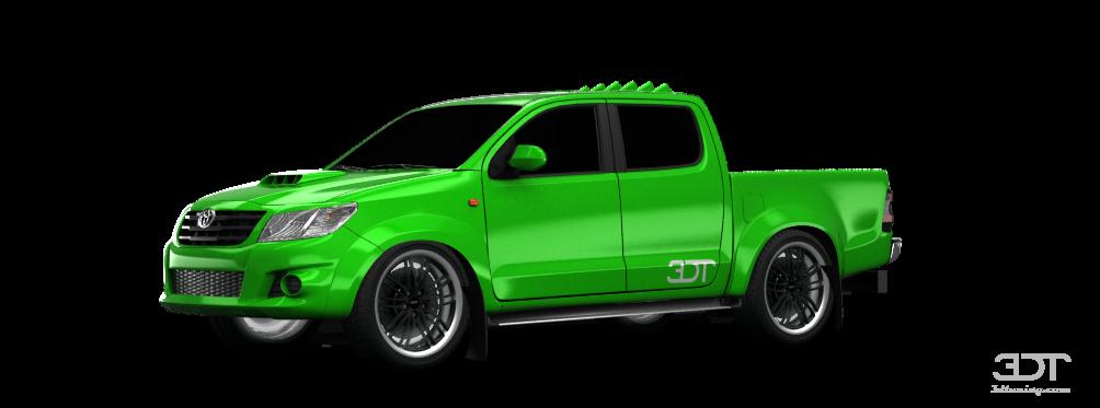 3DTuning of Toyota Hilux Pickup 2009 3DTuning.com - unique on-line car