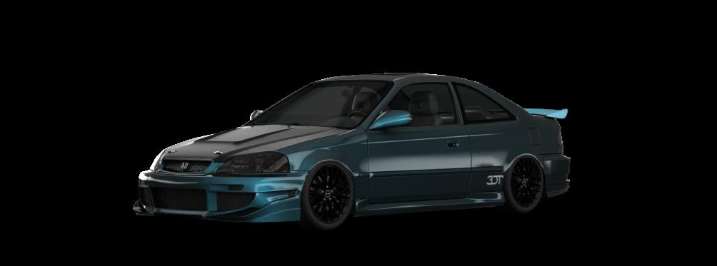 Honda Civic Si Coupe 1999 tuning