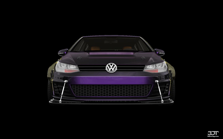Volkswagen Golf 7 5 Door Hatchback 2013