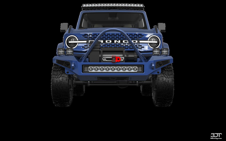 Ford Bronco 2 Door'21