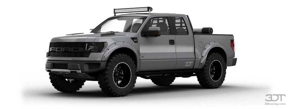 Ford F-150 SVT Raptor SuperCab Truck 2013 tuning