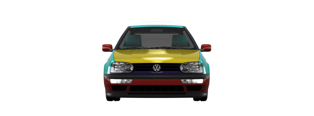 Volkswagen Golf 3'91