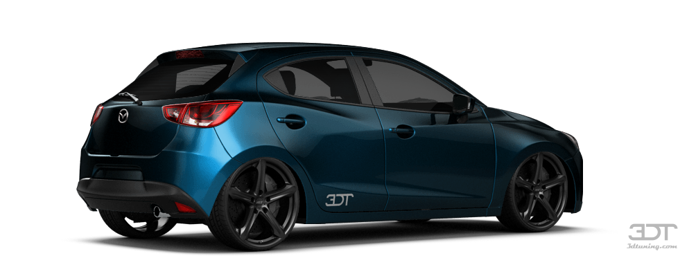 3dtuning Of Under Construction Mazda 2 5 Door Hatchback