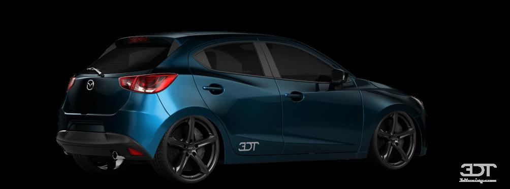 3DTuning of Under Construction Mazda 2 5 Door Hatchback ...