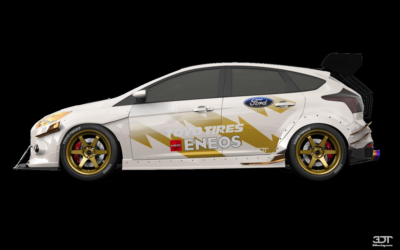 Ford Focus 5 Door Hatchback 2011 tuning