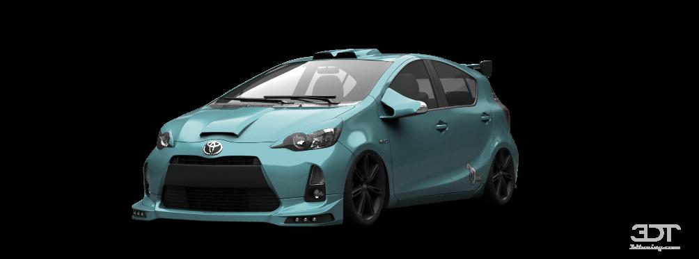 My perfect Toyota Prius C.