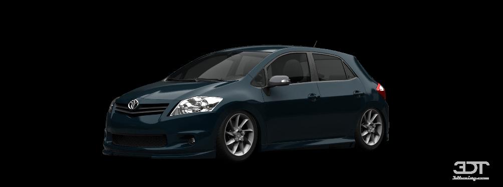 Toyota Auris 5 Door Hatchback 2011 tuning