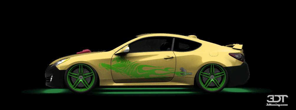 3dtuning Of Hyundai Genesis Coupe 2010 3dtuning Com