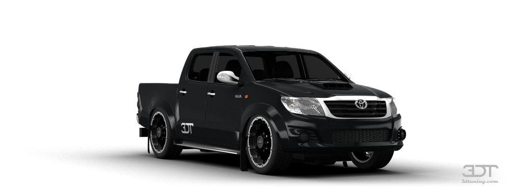 3DTuning of Toyota Hilux Pickup 2009 3DTuning.com - unique ...