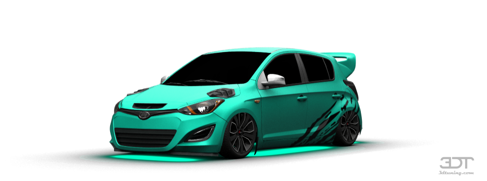 3dtuning Of Hyundai I20 5 Door Hatchback 2013 3dtuning Com