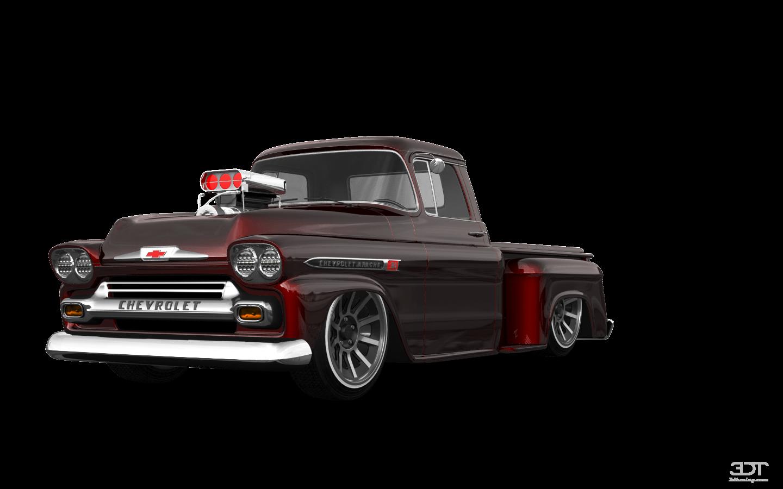 Chevrolet Apache Stepside 2 Door pickup truck 1959 tuning