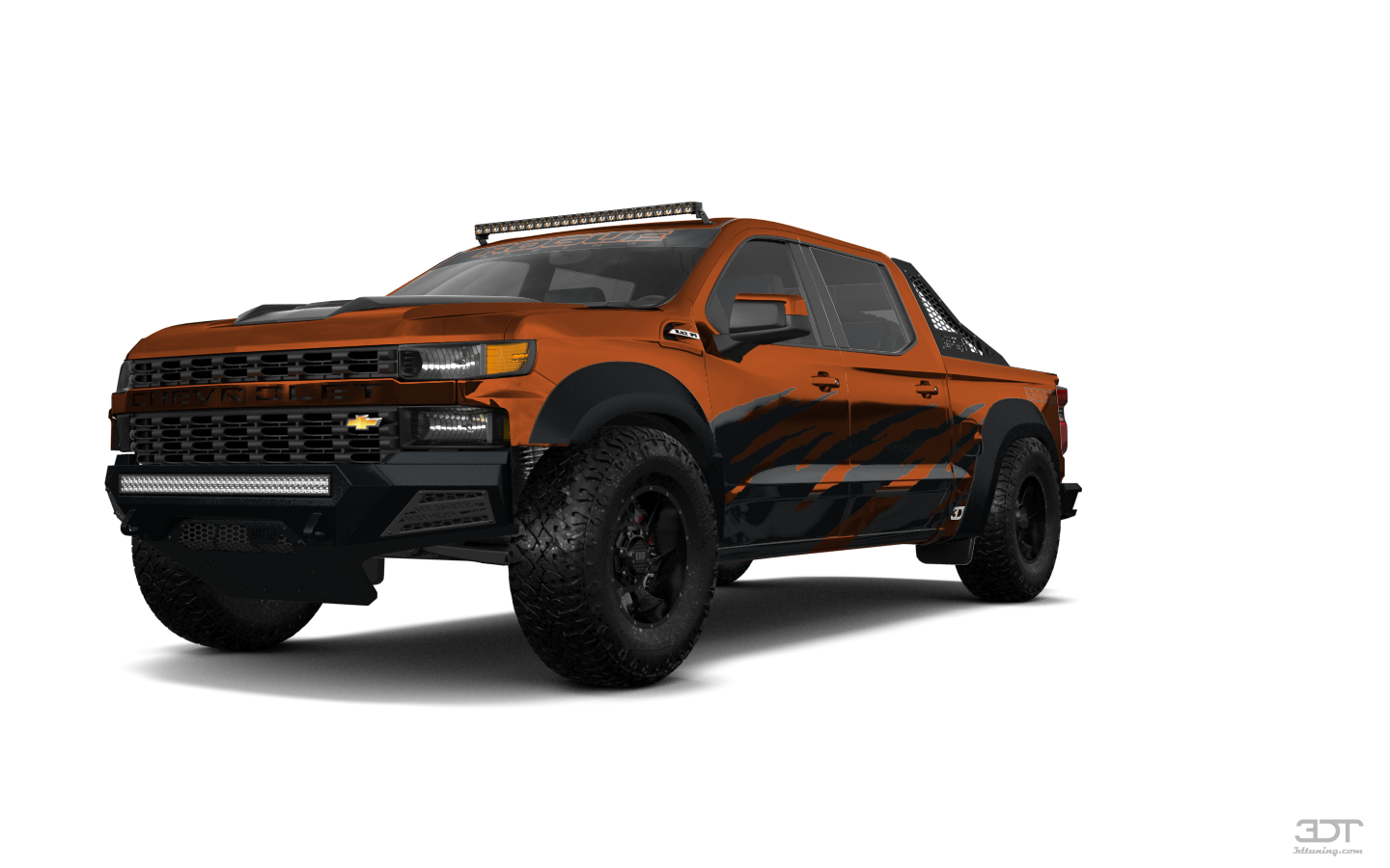 Chevrolet Silverado 1500 4 Door pickup truck 2019 tuning
