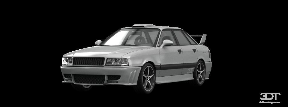 Audi 80 Sedan 1991 tuning