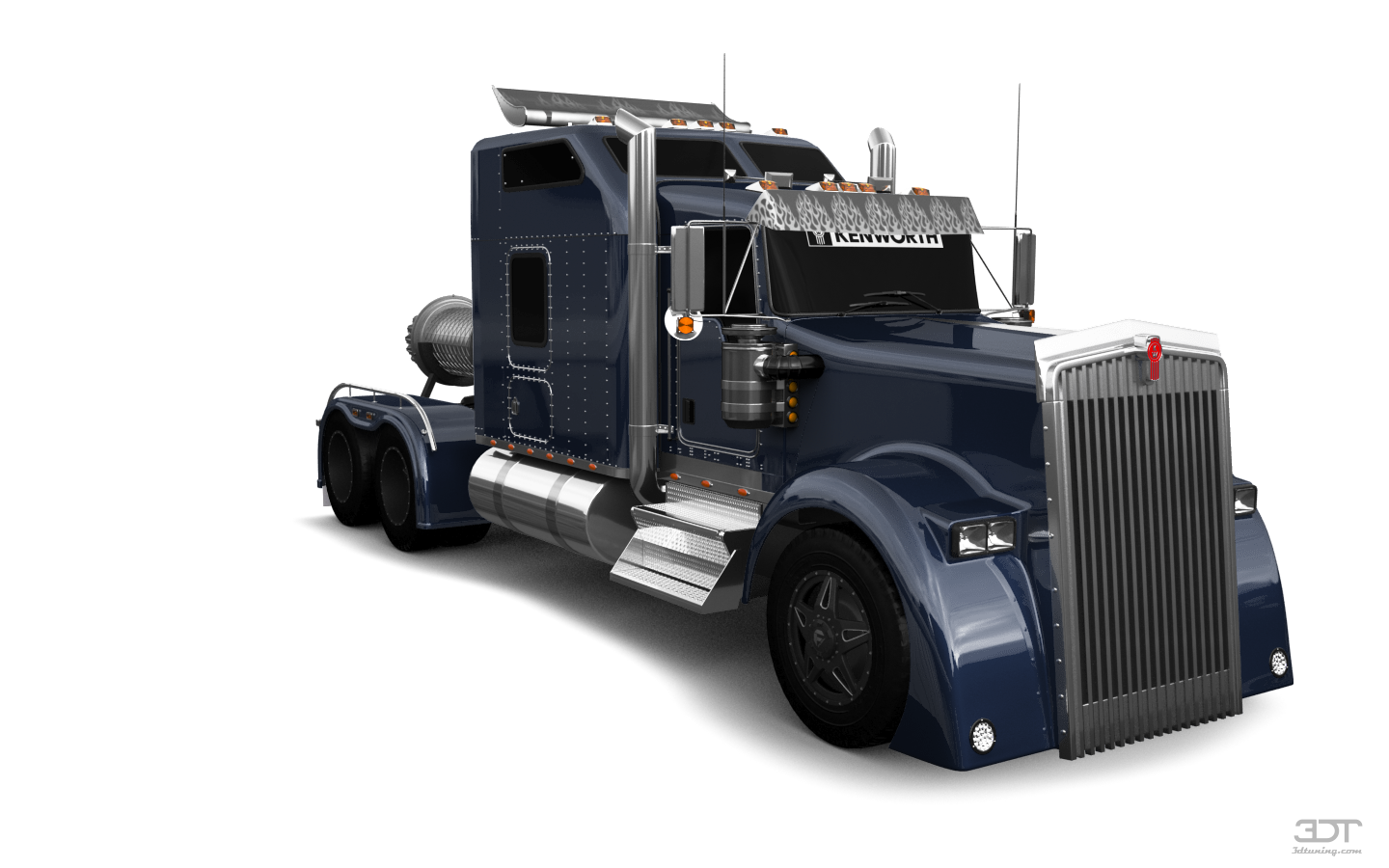 Kenworth W900 Sleeper Cab Truck 2015 tuning