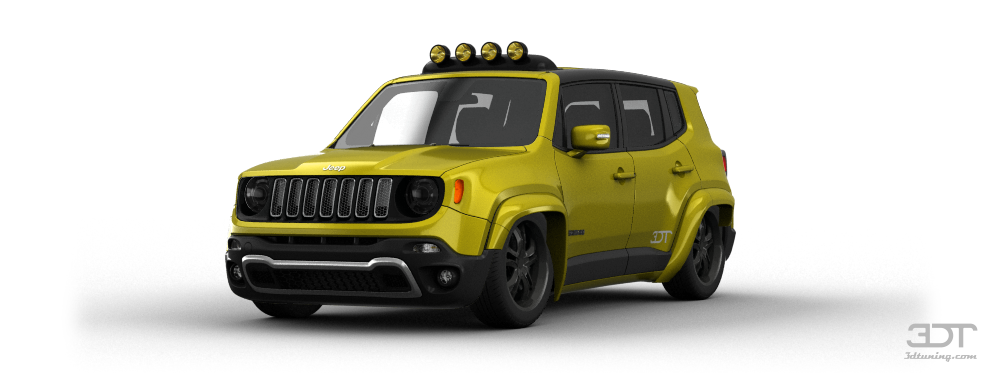 3dtuning Of Jeep Renegade Suv 2015 3dtuning Com Unique