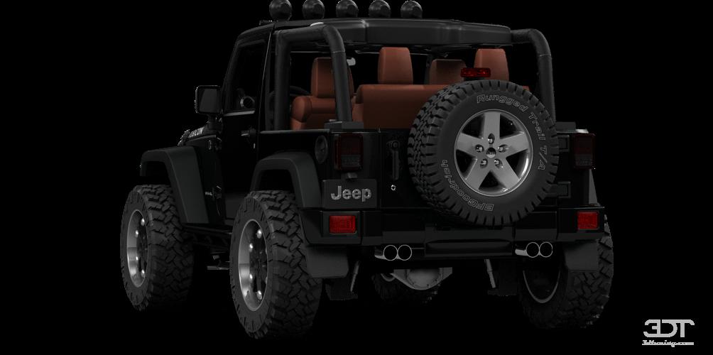 Jeep Wrangler Rubicon Convertible 2013 tuning