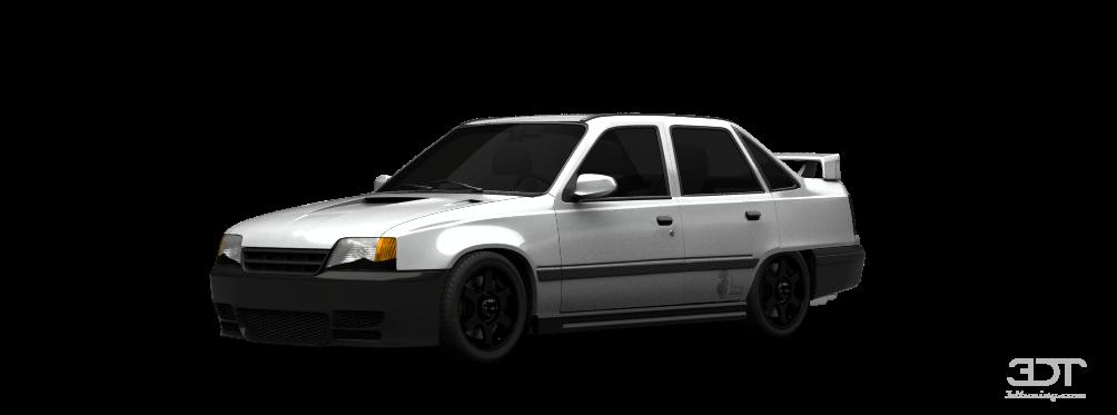 Opel Kadett E Sedan 1984 tuning