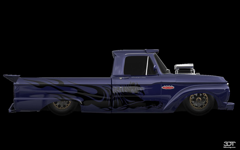 Ford F-100 Custom Cab'66
