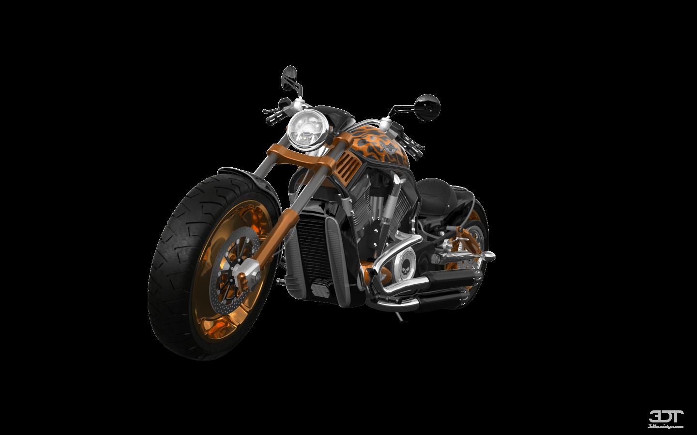 Harley-Davidson Custom Chopper Cruiser 2011 tuning