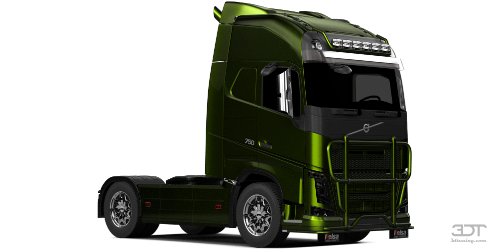 3DTuning of Volvo FH16 Globetrotter XL Cab Truck 2013