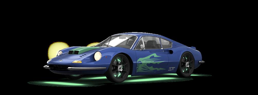 Ferrari Dino 246 GT Coupe 1969 tuning