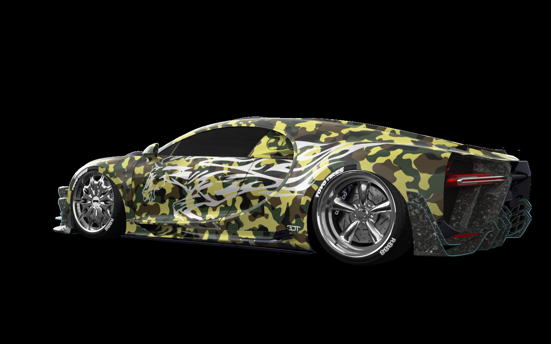 Bugatti Chiron'16