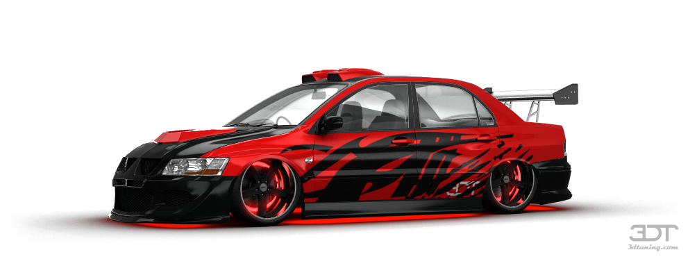 mitsubishi lancer evo vii sedan 2001 tuning