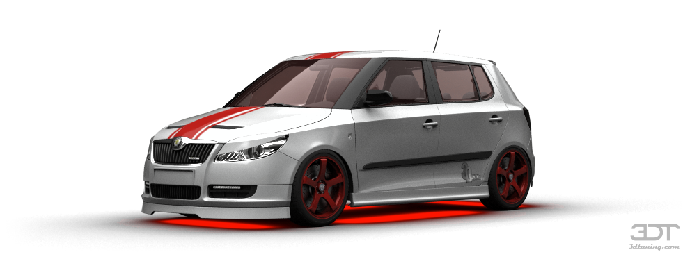 Skoda Fabia 5 Door Hatchback 2011 tuning