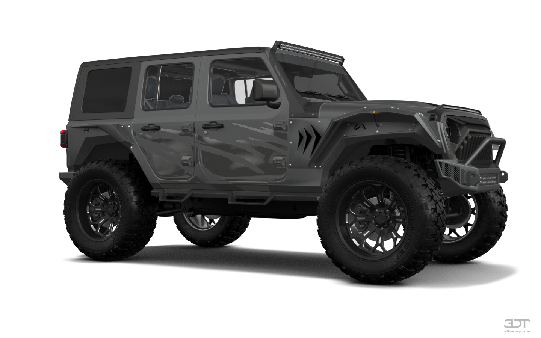Jeep Wrangler Rubicon (JL) 4 Door SUV 2018 tuning