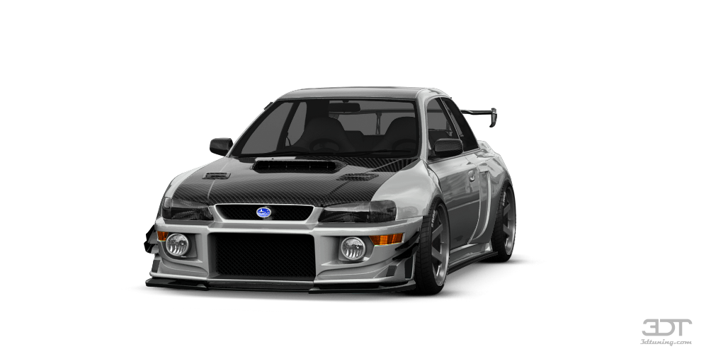 Subaru Impreza WRX STI 22B Coupe 1999 tuning
