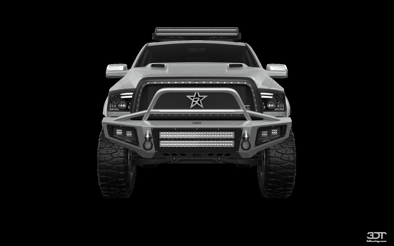 Dodge Ram 2500 4 Door Truck 2014