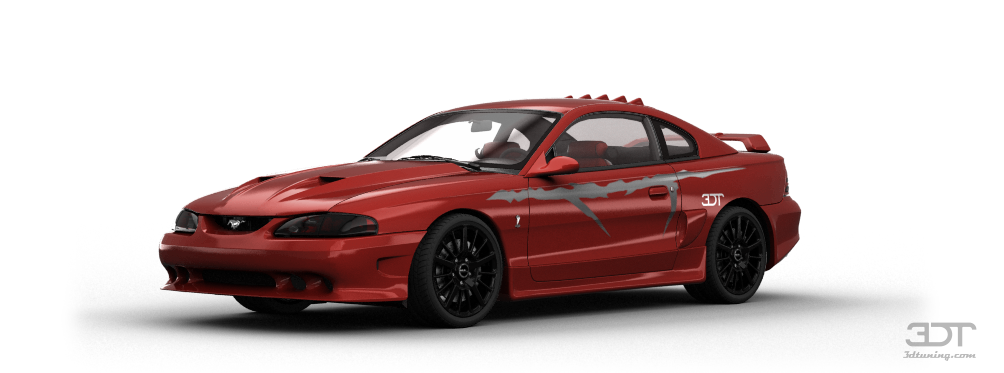 Mustang Cobra R Coupe 1995 tuning